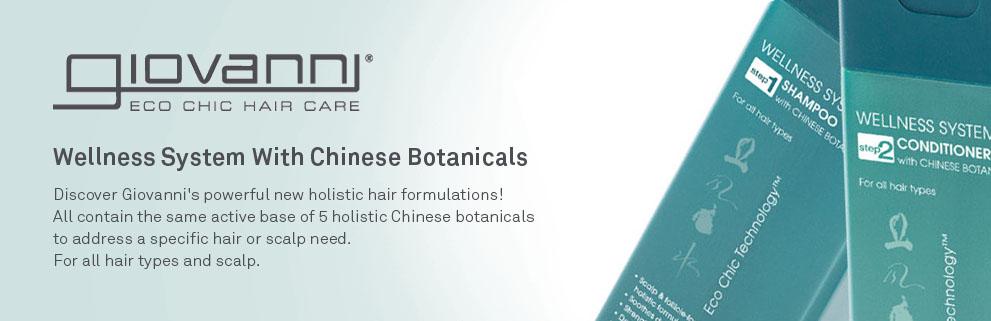Giovanni Wellness System Hair Shampoo Conditioner